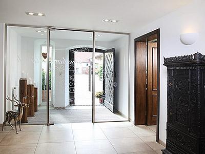 glassdesign - glazen deuren