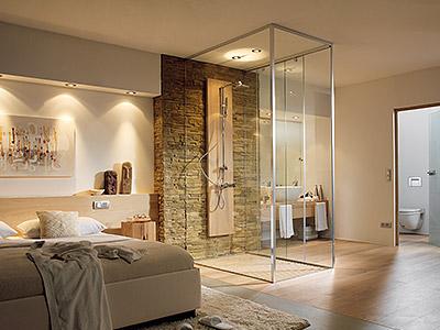 glassdesign - glazen douchesystemen
