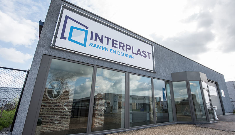 Interplast gevel